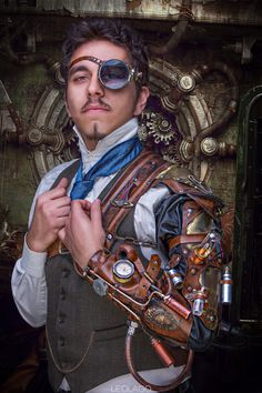 Steampunk Man - null                                                                                                                                                                                 More