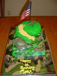 camouflage cake pictures   Military camo cake — Military / Police / Fire Dept.