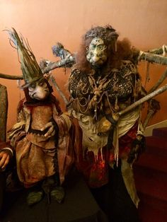 Toby Froud's New Puppet Film Returns Us to the Magical World of 'Labyrinth' and 'The Dark Crystal'  King Time and Granny Fate from Toby Froud's 'Lessons Learned'