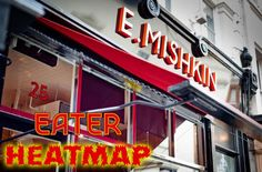 The Eater London Heat Map: Where to Eat Right Now