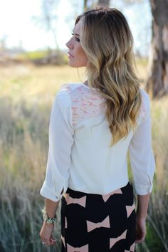Winter Blonde Ombre