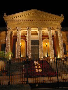"Sicily Italy Palermo ""Teatro Massimo""   Flickr - Photo Sharing!"