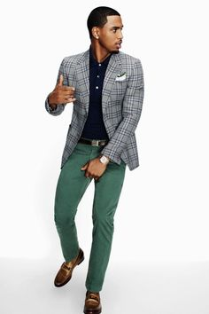 #TreySongz in #GQ Magazine with a pop of the #Pantone Colour of the Year