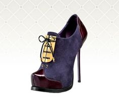 Gianmarco Lorenzi Ankle Boots Fall 2010 #GML #Booties #Heels