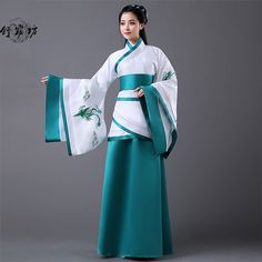 Pas cher Chine ancienne dynastie chinoise antique costume adulte femmes bleu hanfu femmes hanfu folk femmes ancienne dynastie des tang, Acheter  Danse chinoise folklorique de qualité directement des fournisseurs de Chine:                       = = = Bienvenue à notre magasin! = = =                              Cher acheteur, bienvenu