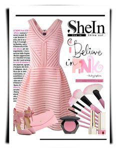 """""""I Believe in Pink"""" by conch-lady ❤ liked on Polyvore featuring moda, H&M, L'Oréal Paris, women's clothing, women, female, woman, misses, juniors y PinkLover"""