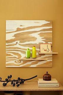 Fancy Schmancy: Go-with-the-Grain Wood Artwork