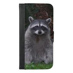 Forest Raccoon Photo iPhone 6/6s Plus Wallet Case - image gifts your image here cyo personalize