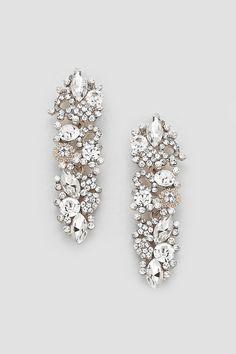 Crystal Katherine Earrings in Illume