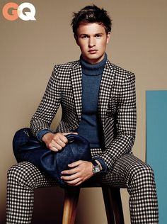Dapper look. For fresh daily pinspiration, follow http://pinterest.com/pmartinza