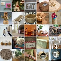 40 rústico DIY Twine proyectos para decorar su hogar y jardín