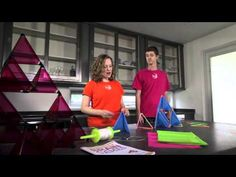 Make a tetrahedral kite, and learn about lifting force and balance!