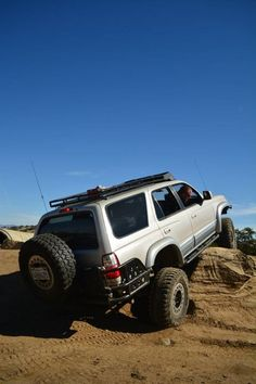 Toyota Roof rack and back tire look fitting. 1998 4runner, 3rd Gen 4runner, 4runner Forum, Toyota 4x4, Toyota Cars, Toyota 4runner, Land Cruiser 80, Infiniti Fx35, Trophy Truck