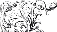 These are some wonderful Scrolls Corner Ornament Images ! Make sure you enlarge them to see the incredible detail of these!!