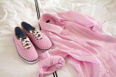 Pink everything.