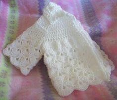 Baby Sweater ~ Free Crochet Pattern