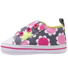 Laceless Sneaker | Baby Girl Shoes  Brez NEEDS these!  She just outgrew her pink ones...