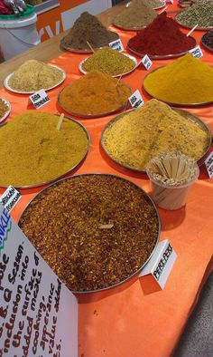 Spice shop, Dandenong market