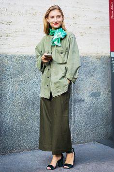翻開時尚街拍集,總會看到 Jenny Walton 的身影!