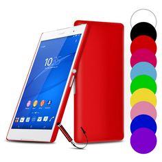 Slim cứng trở lại trường hợp điện thoại cho sony xperia series xa z3 nhỏ gọn z2 z5 m2 m4 aqua m5 e4g z3 c3 c4 c5 c6 bìa tempered Glass