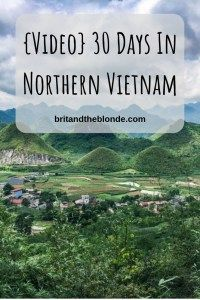 {Video} 30 Days In Northern Vietnam Video Budget Travel, Us Travel, Travel Tips, Travel Videos, Travel Articles, Sa Pa, Adventures Abroad, Ha Long Bay, Da Nang