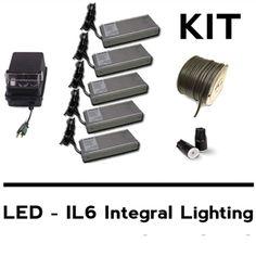 Led Wall Lights, Wall Lighting, Landscape Lighting Kits, Wall Ideas, Landscaping, Wire, Patio, Garden, Garten