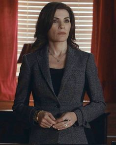 Find+Out+Why+The+Good+Wife's+Alicia+Florrick+Dressed+In+Neutrals+in+Season+5,+Episode+8+From+Costume+Designer,+Daniel+Lawson+-+Season+5,+Episode+13:+Burberry +-+from+InStyle.com