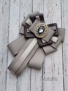 Ribbon Jewelry, Ribbon Necklace, Fabric Jewelry, Diy Necklace, Diy Bow, Diy Ribbon, Ribbon Crafts, Ribbon Bows, Fancy Bows