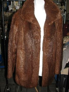 Gorgeous Chocolate Brown Fur or Faux Coat  by TheIDconnection, $375.00