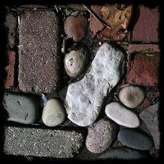rock garden walkway