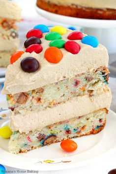 M&M's Peanut Butter Cake | Community Post: 17 Life-Changing Ways To Eat M&M's