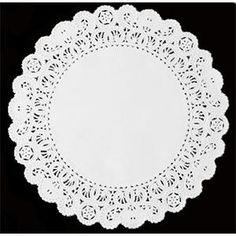 "16"" Lace Normandy Grease Proof Doilies 250 / Pack"