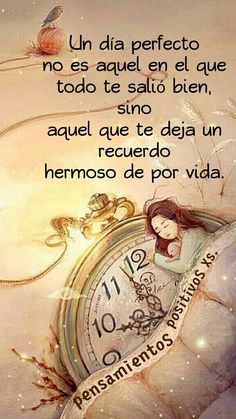 Un dia cto Motivational Phrases, Inspirational Quotes, Positive Vibes, Positive Quotes, Special Quotes, Spanish Quotes, Beautiful Words, Wise Words, Me Quotes
