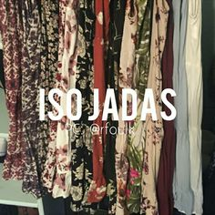 ISO JADAS In search of Brandy Melville Jadas. My New Years Resolution is to become a Jada collector. I personally do not like light colored dresses but I have a few exceptions. I prefer darker print Jadas. The Jadas I am looking for are not limited to the ones listed above and could be any Jada print. I am currently not looking for extremely rare Jadas such as the blue lily Jada or rose pink Jada, mostly looking for cheap ones! Please tag me in any you see! :) Open to trades! Brandy Melville…