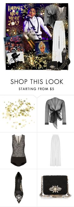 """""""Happy New Year My Poly Friends!!"""" by bb60477 ❤ liked on Polyvore featuring Bianca Elgar, Alice + Olivia, Hebe Studio and Dolce&Gabbana"""