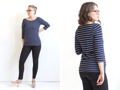 Alright, our newest pattern, the Lark Tee, is finally here! This pattern was born out of a hole in my own closet,the need for a tee that was sleek and put together without being either skin tight,...