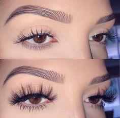 What Makeup For Eyebrows Eye Makeup Art, Eyebrow Makeup, Beauty Makeup, Face Makeup, Eyelash Extensions Aftercare, Eyelash Extensions Styles, Makeup Moisturizer, Wispy Lashes, Permanent Eyebrows