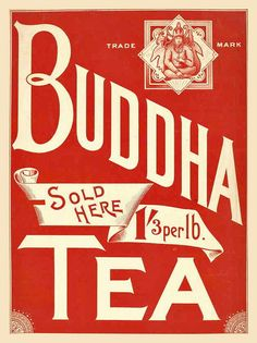 Buddha Tea by Double--M, via Flickr
