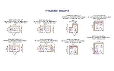 1000 ideas about room dimensions on pinterest twin xl for Powder room door size
