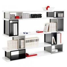 AKINA, système d'étagères modulaires chez Fly