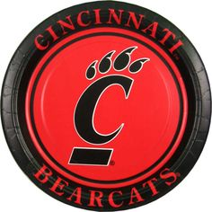 Cincinnati Bearcats, University Of Cincinnati, Paper Plates, Good Things, Toys, Activity Toys, Clearance Toys, Gaming, Games
