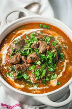 Robust aroma of smoked paprika and tender, melt in your mouth chunks beef are what make this Beef Goulash an absolute winner!