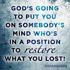I am keeping the faith