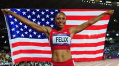 Allyson Felix claims long-awaited gold medal