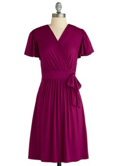 The Fuchsia of Fashion Dress, #ModCloth  Purple  Sleeves