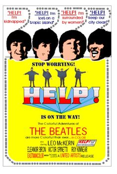Beatles Film Posters