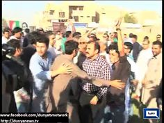 Supporters Of MQM, PTI Clash In Azizabad