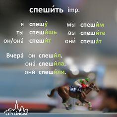 ENG hurry DEU eilen FRA précipiter SPA apresurarse ITA fretta  |  Russian Grammar Lesson: Russian Verbs
