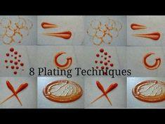 Dessert Plating Decoration Ideas - Dessert Design - Plate Decoration - Chocolate Garnishes-Chocolate - YouTube