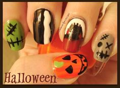 DIY Halloween Nails : Halloween Nails